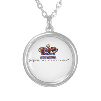 Spanish-Queen Silver Plated Necklace