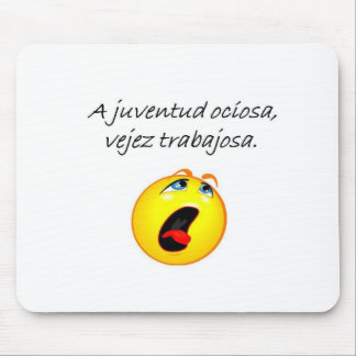 Spanish Quotes Mouse Pad
