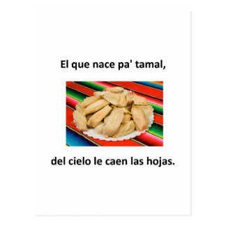 Spanish Quotes Postcard