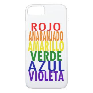 Spanish Rainbow Colors iPhone 8/7 Case