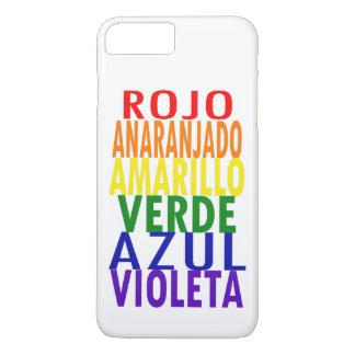 Spanish Rainbow Colors iPhone 8 Plus/7 Plus Case
