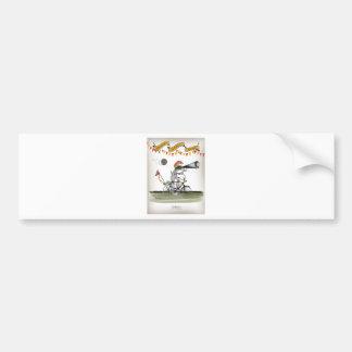 spanish referee bumper sticker