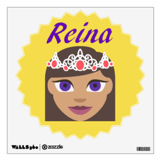 Spanish Reina (Queen) Wall Decal