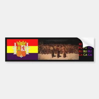 Spanish Republic Spain Bumper Sticker