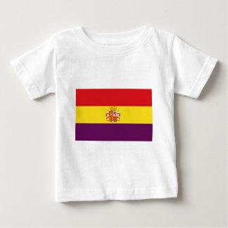 Spanish Republican Flag - Bandera República España Baby T-Shirt