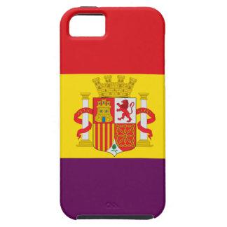 Spanish Republican Flag - Bandera República España Case For The iPhone 5