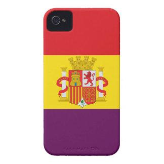 Spanish Republican Flag - Bandera República España iPhone 4 Case-Mate Case