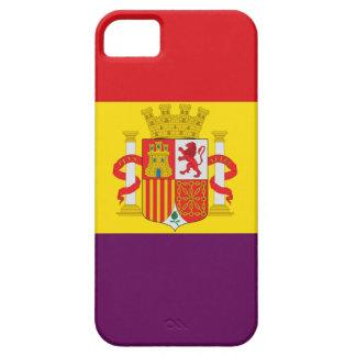 Spanish Republican Flag - Bandera República España iPhone 5 Case