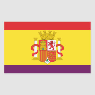 Spanish Republican Flag - Bandera República España Sticker