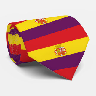 Spanish Republican Flag - Bandera República España Tie