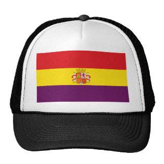 Spanish Republican Flag - Bandera República España Trucker Hat