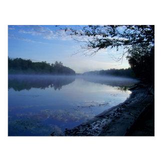 Spanish River, Massey, Ontario, Canada Postcard