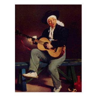 Spanish singer - Edouard Manet Postcard