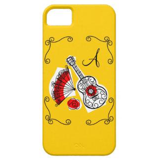 Spanish Souvenirs corners monogram iPhone 5 case