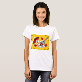 Spanish Souvenirs Corners t-shirt horizontal
