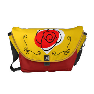 Spanish Souvenirs Rose Corners medium Commuter Bag