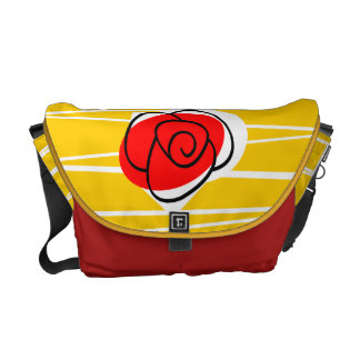 Spanish Souvenirs Rose messenger bag medium