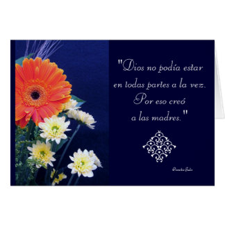 Spanish: Special day - mom / madres Card
