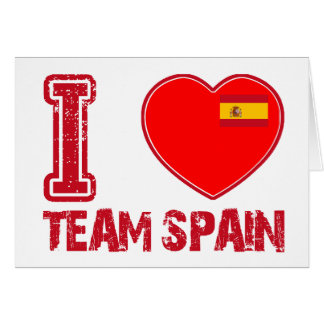 spanish sport designs card