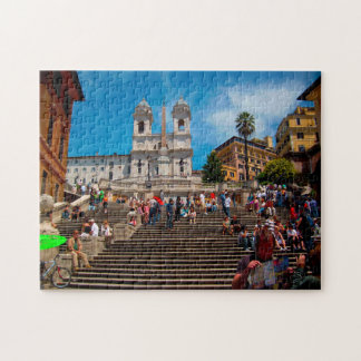 Spanish Steps Rome. Jigsaw Puzzle
