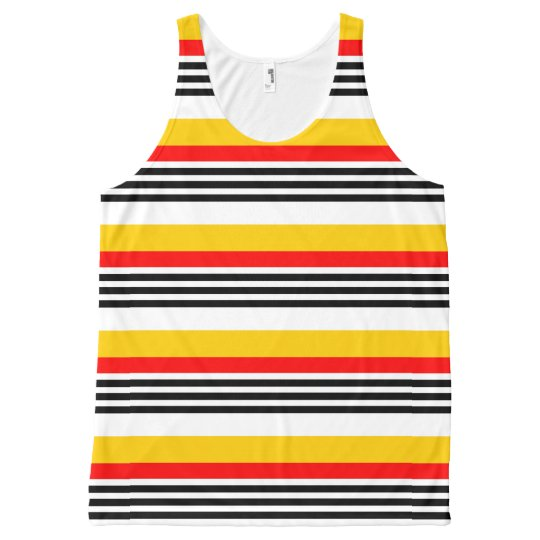 Spanish Stripe Classic all over tank top