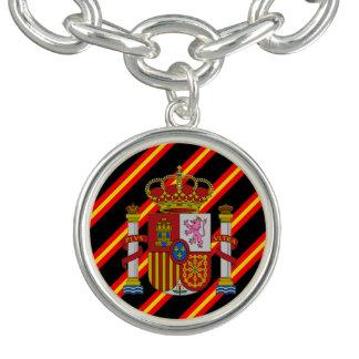 Spanish stripes flag bracelet