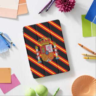 Spanish stripes flag iPad air cover