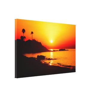 Spanish Sunrise 1 Canvas Print