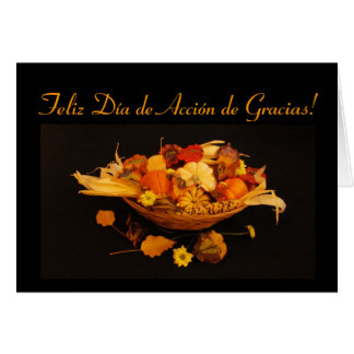 Spanish: Thanksgiving Card
