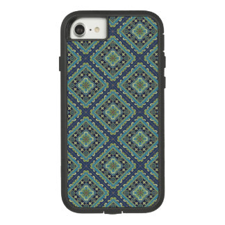 Spanish Tile - flowers and stripes Case-Mate Tough Extreme iPhone 8/7 Case