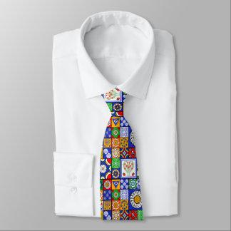 Spanish Tiles tie