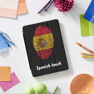 Spanish touch fingerprint flag iPad air cover