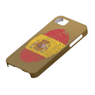 Spanish touch fingerprint flag iPhone 5 cases