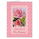 Spanish: Valentine's Day - Dia de San Valentin Card