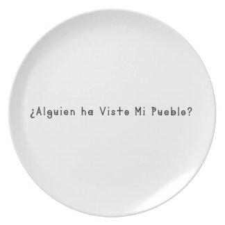 Spanish-Village Plate