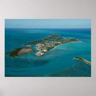 Spanish Wells & Russell Island, Bahamas Poster
