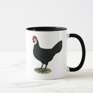 Spanish:  White-faced Hen Mug