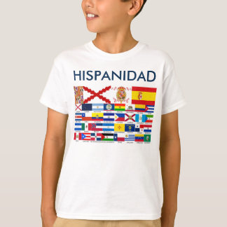 SPANISHNESS origin and countries. Young t-shirt