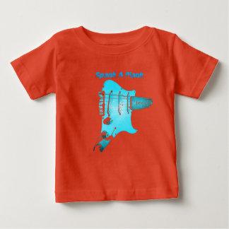 """Spank A Plank""  Guitar Shirt"