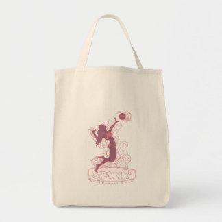 Spank Bikini Pink Canvas Bags