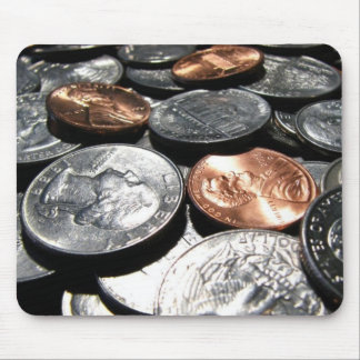 Spare Change Mouse Pad