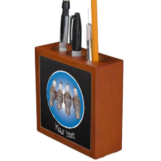 Spark plugs of the engine Pencil/Pen holder