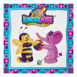 Sparkelina and Busybee from Kinderwise Sharing, Perfect Poster