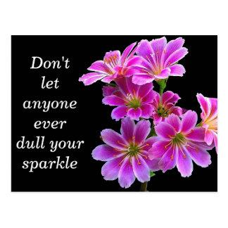 """""""Sparkle"""" - Art Photography Card"""