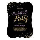Sparkle   Bachelorette Party Invitation