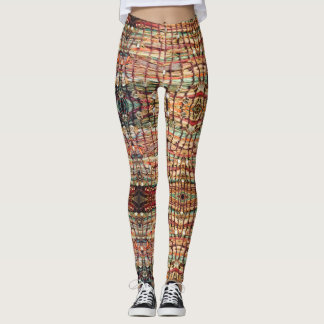 Sparkle Basket Leggings