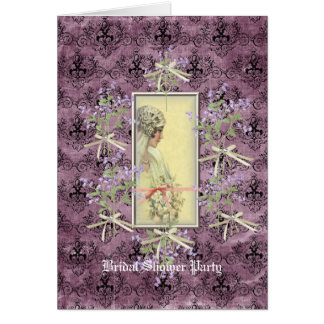 Sparkle & Bows Bridel Shower Invitation