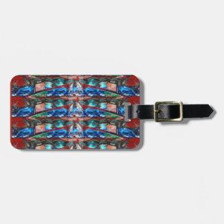 Sparkle Complex Jewels  Template ORIGINAL FUN ART Bag Tag