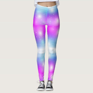 Sparkle Cotton Candy Leggings