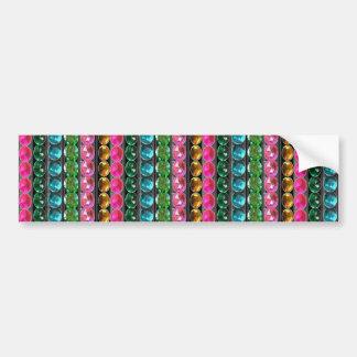 SPARKLE Gems Jewels Graphic decorative pattern gif Bumper Sticker